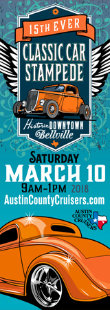 Classic Car Stampede Bellville Texas